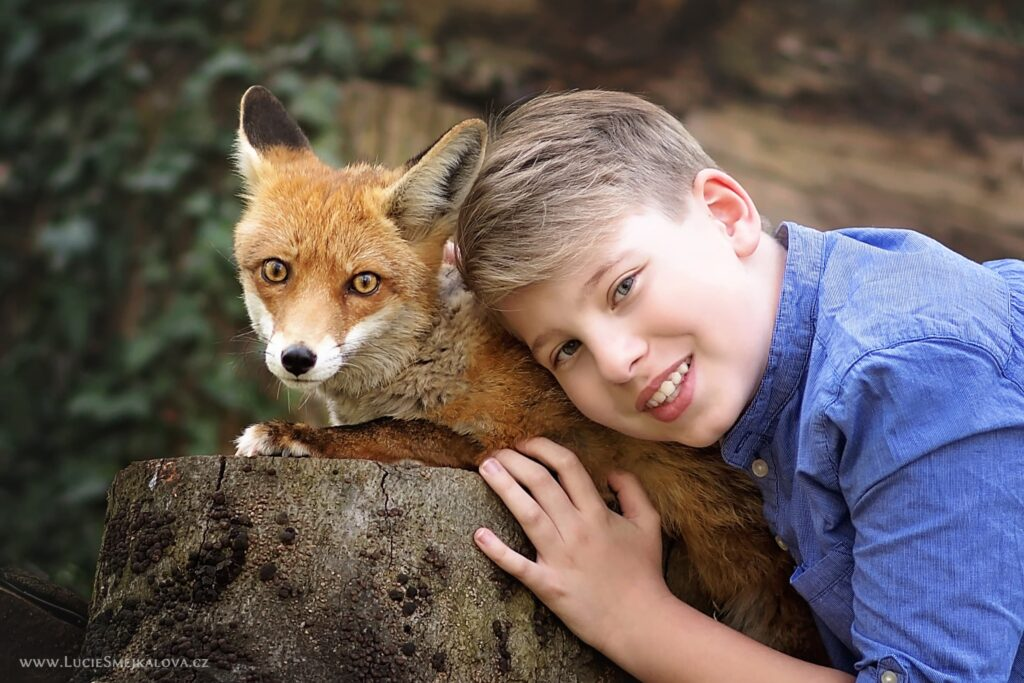Zážitkové focení s liškou